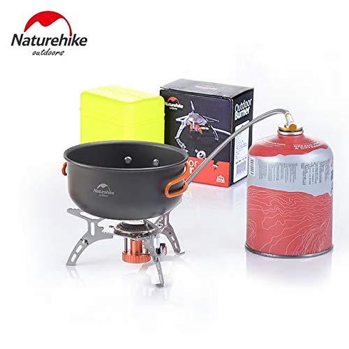 Campingwise   /® Ultraleichter und Faltbarer Gaskocher mit Piezoz/ündung.