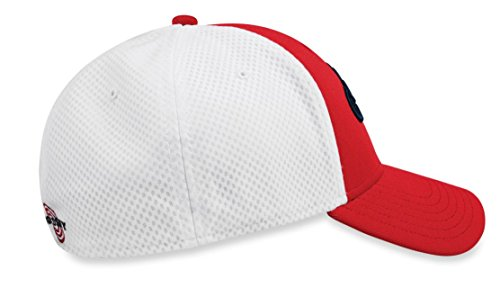 Blanco HW CG Rojo Hombre Gorra Multicolor Béisbol Fitted de Mesh Callaway vxwHUx