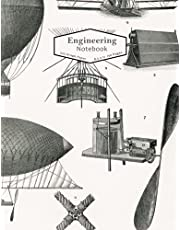 Engineering Graph Composition Notebook: 122 Pages 5 x 5 Grid Format for Math Space Science Technology Engineering Physics. For Student, Teacher, Engineer, Architect, Designer, Scientist and Lifelong Learners