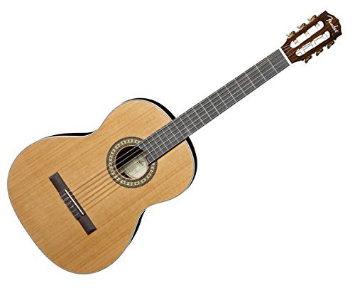 Fender CN-320 AS CDR Classical Nylon String Guitar w/Case