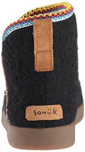 Black 5 Bootie Women's Sanuk 6 Us Ankle Bootah M Nice Xvxn0C