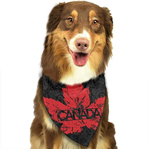 CYCY Washable Canada Leaves Triangle Unique and Never Out of Date Bandana Scarves Accessories for Pet Cats and Dogs - Gifts