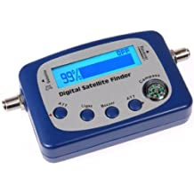 DIGITAL SATELLITE SIGNAL METER FINDER WITH COMPASS BUZZER FOR FTA-DISH NETWORK BELL SHAW