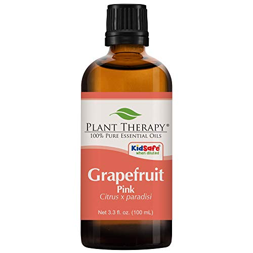 - Plant Therapy Grapefruit Pink Essential Oil | 100% Pure, Undiluted, Natural Aromatherapy, Therapeutic Grade (100 mL (3.3 oz))