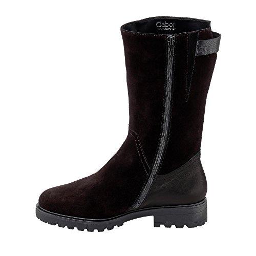 Ladies 47 Gabor Boots Comfort 785 mel Schwarz 72 Nero 7qZAPx6wZ5