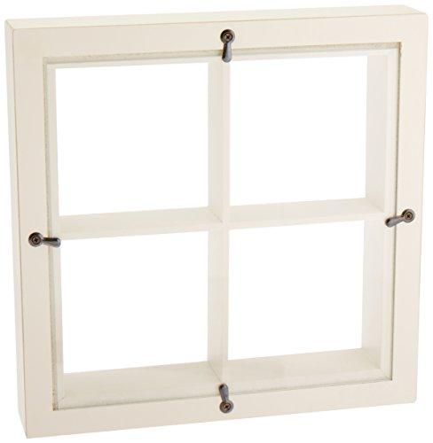 Graphic 45 Window Shadow Box, Ivory (Edge Chipboard Album)