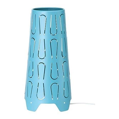 Ikea kajuta lámpara de mesa en color azul; (30 cm); A + +: ...