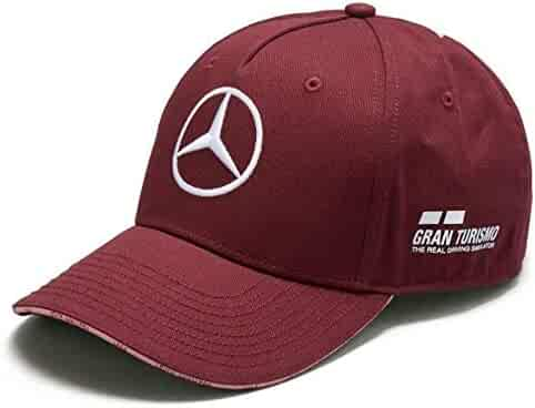 d6dc9dbb75aac Mercedes Benz F1 Special Edition Lewis Hamilton 2018 Singapore Wine Red Hat