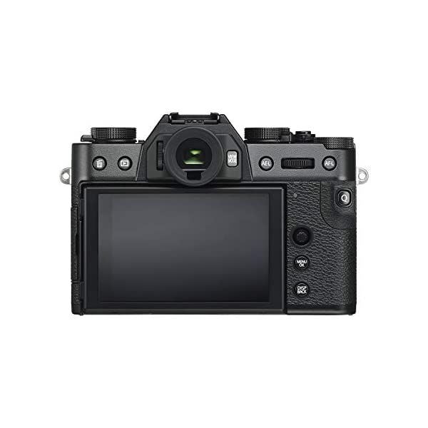 """RetinaPix Fujifilm X-T30 26.1 MP Mirrorless Camera Body (APS-C X-Trans CMOS 4 Sensor, Electronic Viewfinder, 3"""" Tilt Touchscreen, Fast & Accurate AF, Face/Eye Detection AF, 4K Video, Film Simulations) - Black"""