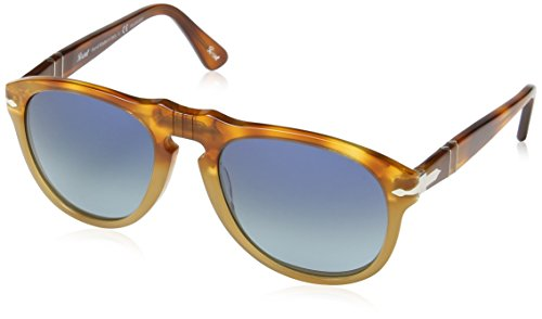 Persol PO0649 1025S3 Brown PO0649 Aviator Sunglasses Polarised Lens Category - Persol Sunglasses 0649