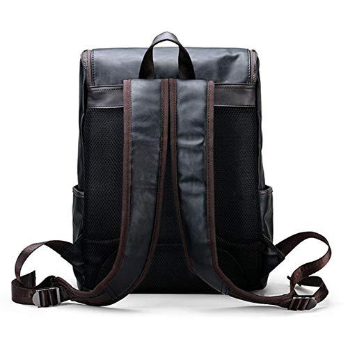 School Black Computer Men's Bag Dhfud Backpack Retro gxqU1gEw