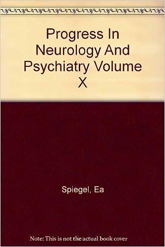 Téléchargez des livres gratuits pour itouch Progress in Neurology and Psychiatry Volume X PDF