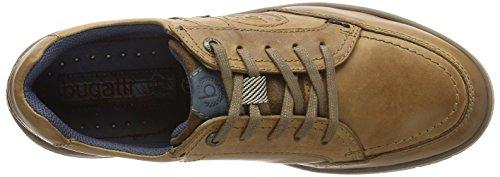 bugattiR25048 - Zapatillas Hombre Marrón - marrón (cognac 644)