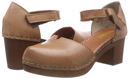 Manitu Braun Sandalette Manitu Damen Damen 5ZFIwzqx