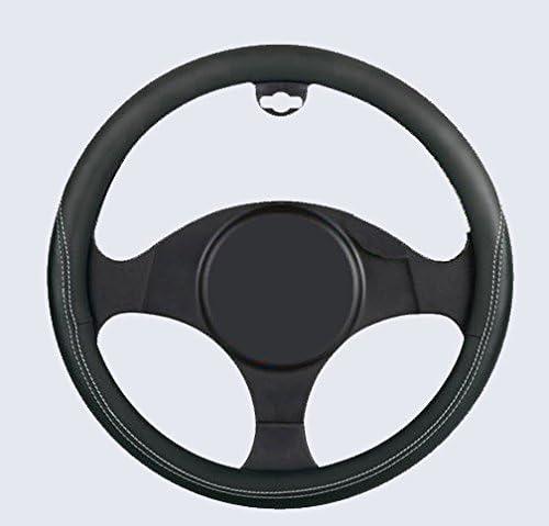 autoSHOP COPRIVOLANTE in Similpelle Nero per Auto Copri Volante
