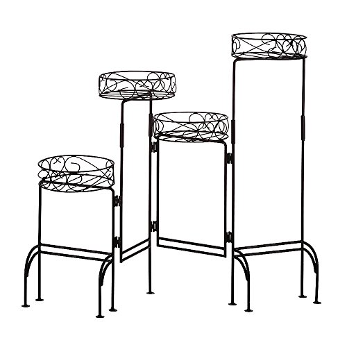 VERDUGO GIFT Four-tier Plant Stand Screen -