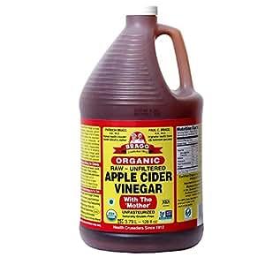 Amazon.com : Organic Raw Apple Cider Vinegar Unfiltered