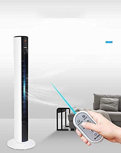 Ventilador sin cuchilla inteligente para el hogar, ventilador de aire acondicionado inteligente para el ciclo de silencio para oficina, dormitorio, mesa de noche con ...