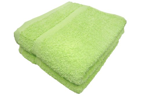Towels Plus Cotton Hand Towel - Textiles Plus 18-Inch by 32-Inch Cotton Hand Towel, Kiwi, Set of 2