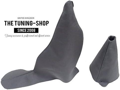 Gear Handbrake Gaiter Manual Charcoal Leather