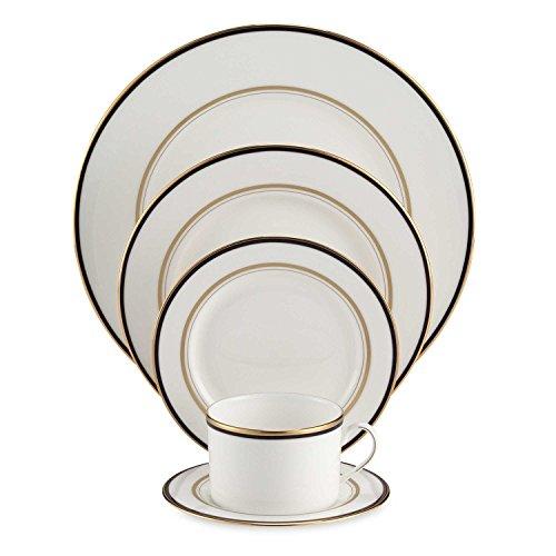 Kate Spade Library Lane Coral 5-piece Dinnerware Set