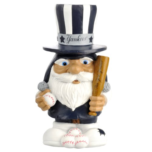 New York Yankees Baseball Mad Hatter Gnome