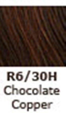 Hairuwear Clip In Straight 22 R6 30H Chocolate Copper 22 In