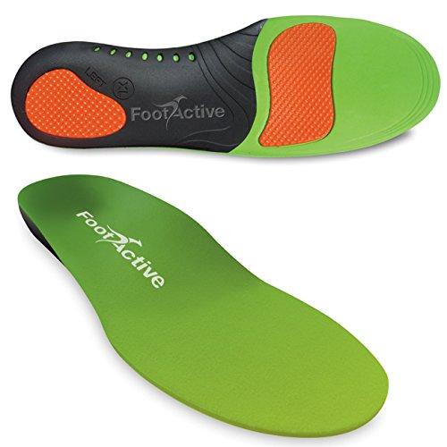 FootActive SPORT - Einlegesohlen für Sport, Freizeit und Beruf - 42 - 43 (M)