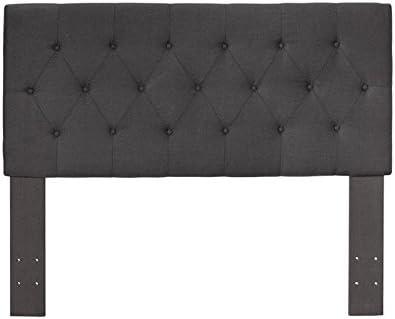 Best modern headboard: Furniture of America Warscher Wood Full Queen Tufted Headboard