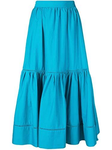 191tt224b3716 Falda Mujer Azul Algodon set Twin q4fw1En