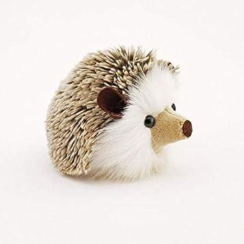 Amazon Com 1pcs Stuffed Hedgehog Stuffed Animal The Plush Toy Brown