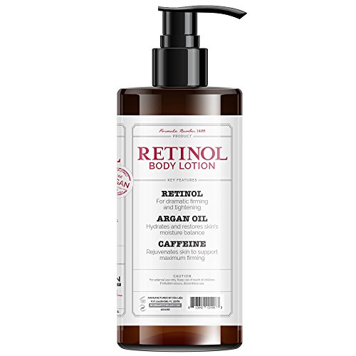 41eQKL0eXlL - Rosen Apothecary Anti-Aging Retinol Body Lotion - Age Defy - Body Firms & brightens 32oz / 960ml