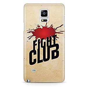 Loud Universe Fight Club Blood stain Samsung Note 5 Case with 3d Wrap around Edges