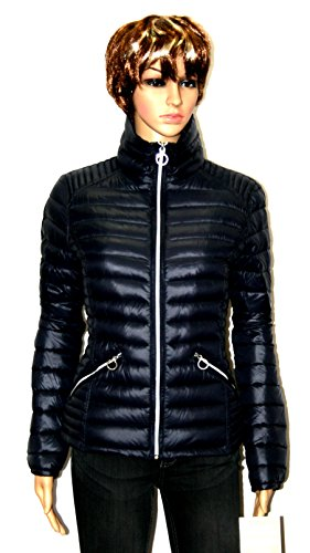 MICHAEL Michael Kors women's Packable down fill Puffer Coat jacket $190 NAVY (M)