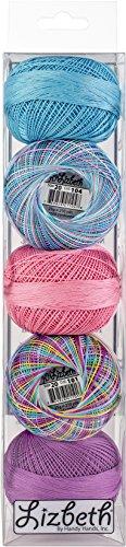 Handy Hands Lizbeth Specialty Pack Cordonnet Cotton Size 20-Summer 5/Pkg by Handy Hands