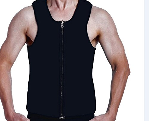 ValentinA Slimming Neoprene Vest Hot Sweat Shirt Body Shapers for Weight Loss Mens