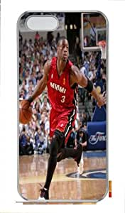 Designer iPhone 5s case with Dwyane Wade theme for fans, case for iphone 5s