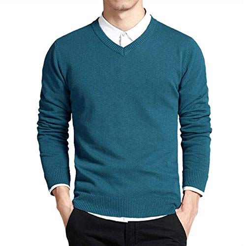 ACD Cotton Sweater Men Long Sleeve Pullovers Outwear