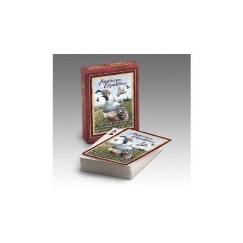 American Expedition Wildlife Playing Card Deck: QUAIL