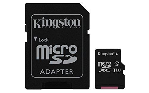 KINSTON 256GB MICRO SDXC I CLASS 10 SDC10G2/256GB by Kingston