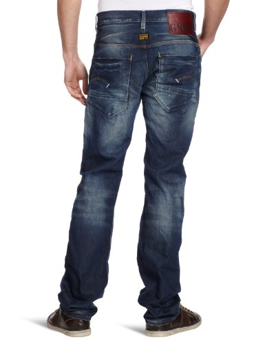 T p Radar 3019 Tapered medium G 3609 New Homme Jeans Aged Bleu star Raw tfvPO