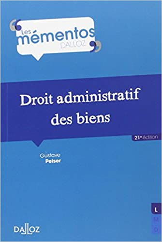 Read Online Droit administratif des biens - 21e éd. pdf, epub ebook