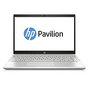 HP Pavilion 14-ce0001ne Laptop, Intel Core i7-8550U, 14 Inch, 1TB, 8GB RAM, Nvidia Geforce MX150 (2GB Graphics), Win 10, Eng-Ara KB, Gold