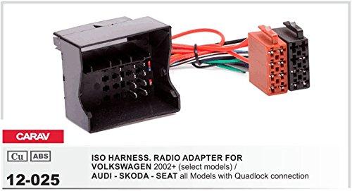 Carav 09-004-25-7 2-DIN Marco de pl/ástico para Radio Adaptador Dash rodeado Trim Kit de instalaci/ón