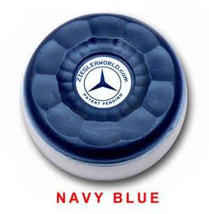 Zieglerworld Table Large Shuffleboard Weights - 4 Pucks - Navy Blue Colors + ()