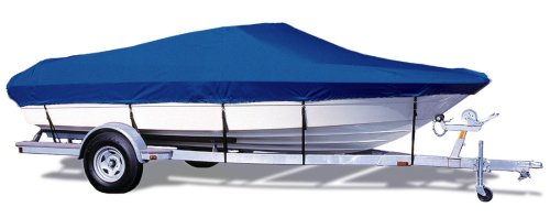 (TAYLOR MADE PRODUCTS Trailerite Semi-Custom Boat Cover for V-Hull Runabout Boats with Outboard Motor (16'5