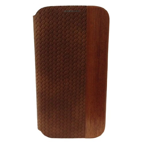 Handcrafted Hua Li Wood Natural Wood+holster+plastic for Samsung Galaxy S4/ S 4/ S Iv/ I9500/ I9505 Wood Case Cover Skin
