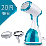 Minetom Steamer for Clothes -1000W Portable Powerful Handheld Garment Steamer with 260ml High