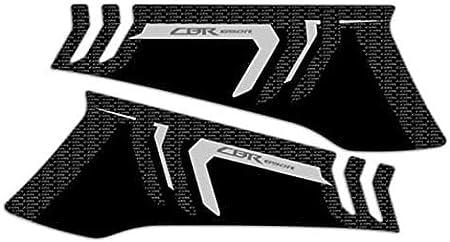 QYA Praktisches Motorrad-Zubeh/ör Motorrad-Aufkleber der Carbon-3D Aufkleber Gas Cap-Beh/älter-Auflage-Schutz-Aufkleber Aufkleber Aufkleber Moto for Honda CBR650R CBR 650R 2019 Wei/ß 4 NAM