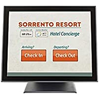 Planar PT1545P 15 LCD Touchscreen Monitor - 4:3 - 8 ms - Projected Capacitive - Multi-touch Screen - 1024 x 768 - XGA-2 - Adjustable Monitor Angle - 16.7 Million Colors - (Certified Refurbished)